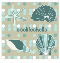 Set of shells vector