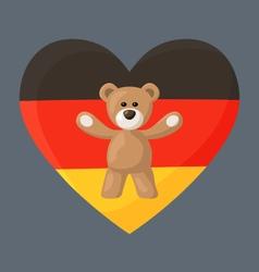 German Teddy Bears vector image