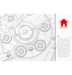 architect background vector image