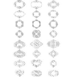 Calligraphy elements vector