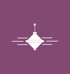 Icon on background children whirligig vector