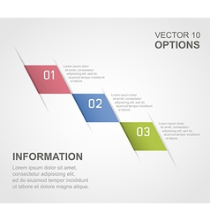 options 01 vector image vector image