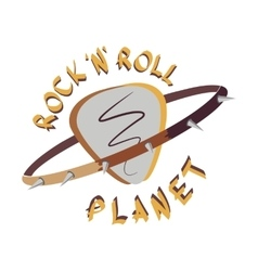 Rock And Roll Logo vector image