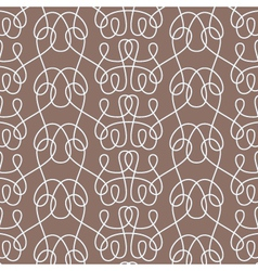 Knitting seamless pattern vector