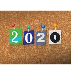 2020 ransom vector image
