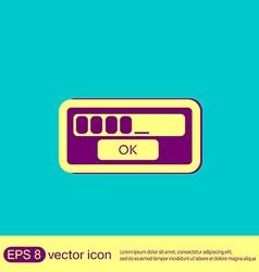 Web-interface vector