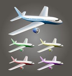 An aircraft vector