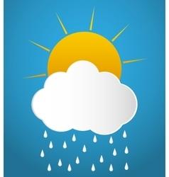 Clouds icon design vector image