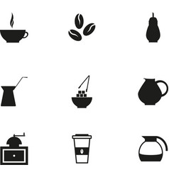 coffe icon vector image