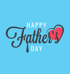 fathers day banner family party vector image