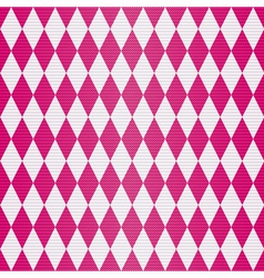 Seamless geometric pattern with rhombuses vector image vector image