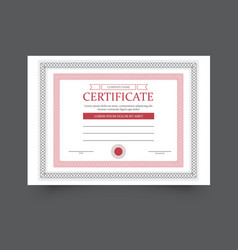 template diploma vector image