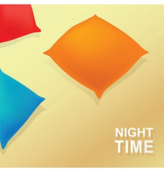 Night time background vector