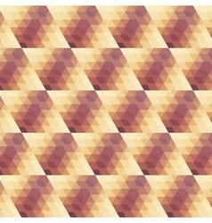 beige violet geometric pattern 3 vector image vector image