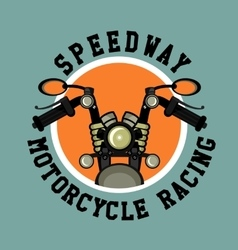 Logo moto club vector