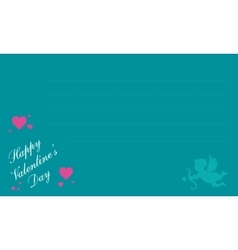 Greeting card for valentine day collection vector