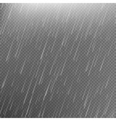 Rain transparent template background eps 10 vector