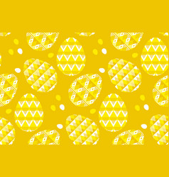 Tribal geometry concept easter egg decoration vector