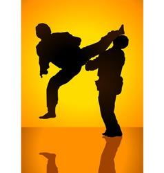Martial art vector
