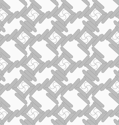 Shades of gray rounded rectangles touching vector