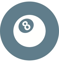 Eight ball vector