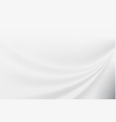abstract white smooth motion background vector image