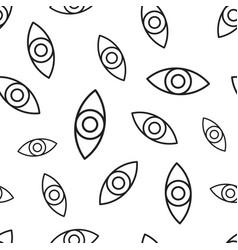 eye seamless pattern background business flat vector image