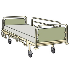 Hospitalbed vector