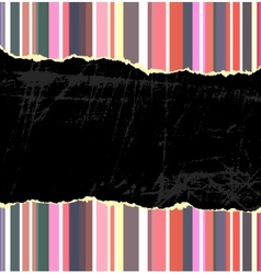 Torn vintage background vector image vector image