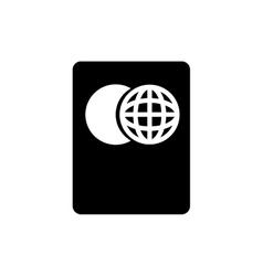 Travel passport isolated vector