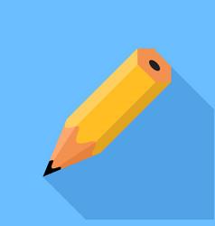 Pencil flat design icon vector