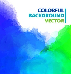 Background of multi color ink splash vector