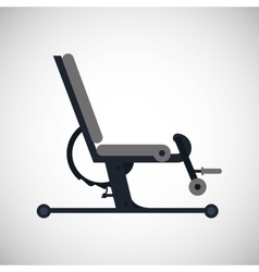 Gym machine design vector