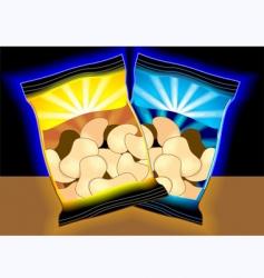cashew nuts vector image vector image