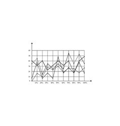 Graphs computer symbol vector