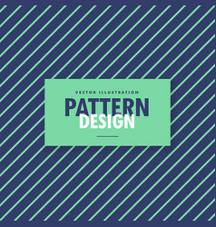 Green and blue diagonal lines background vector
