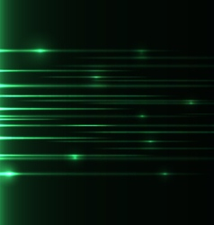 Green-speed-laser vector