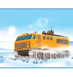 cross country vehicle vector image