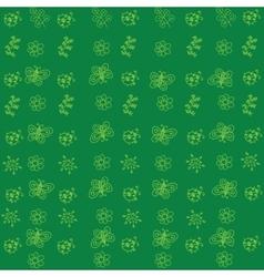 Flowers doodle art vector