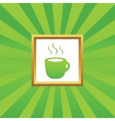 Hot drink picture icon vector image vector image