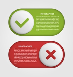 Slider infographic design template vector
