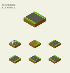 Isometric way set of without strip unilateral vector
