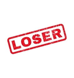 Loser rubber stamp vector