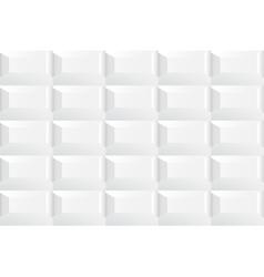 White tile ceramic texture vector