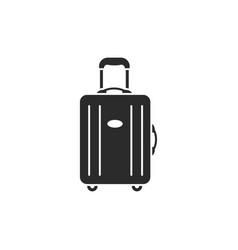 luggage modern icon vector image
