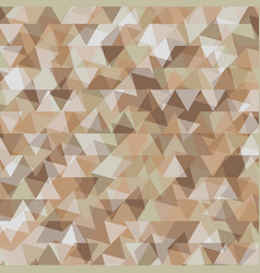 Abstract background with geometry earth tone vector