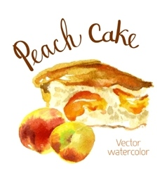 Watercolor sketch vector