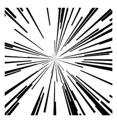 Abstract speed motion black lines vector