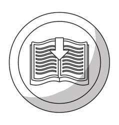 Book download related icons image vector