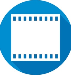 Film frames icon vector